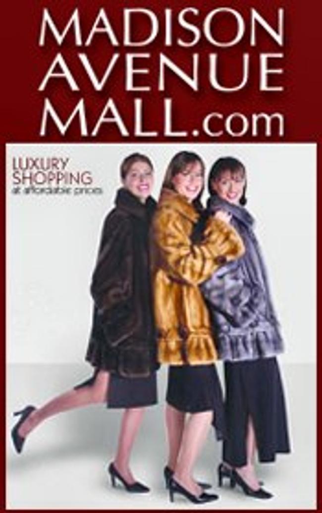 Madison Avenue Mall - Furs Catalog Cover