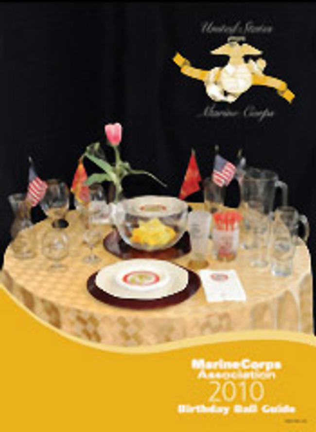 Marine Corps Gifts Catalog Cover