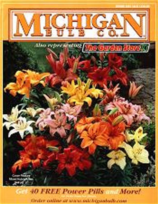 Michigan Bulb Co. Catalog Cover