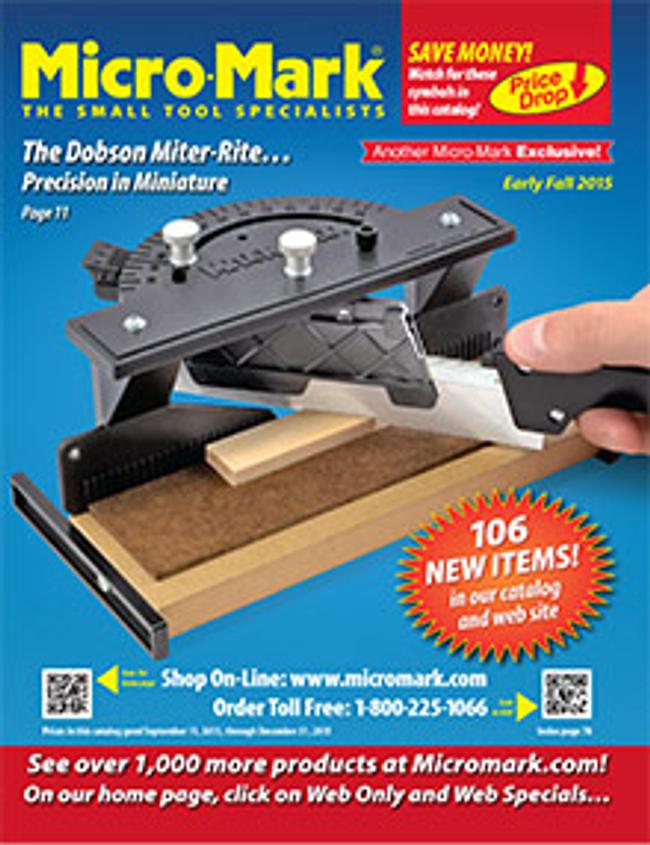 Micro-Mark Catalog Cover