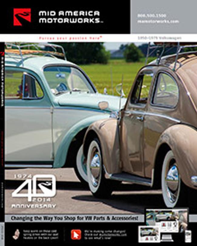 Mid America VW Catalog Cover