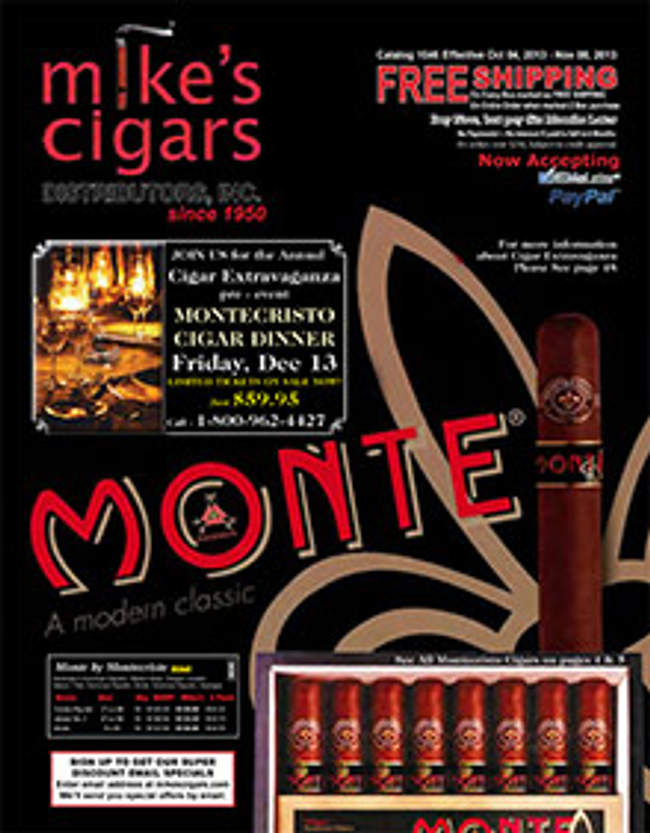 Mike's Cigars Catalog Cover