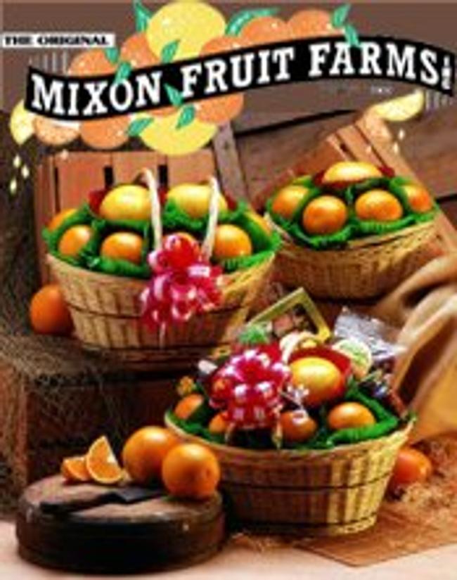 Mixon Fruit Farms Catalog Cover