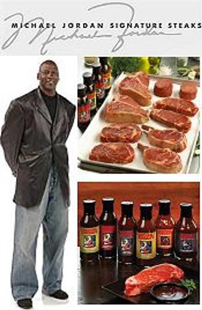 Michael Jordan Steaks Catalog Cover