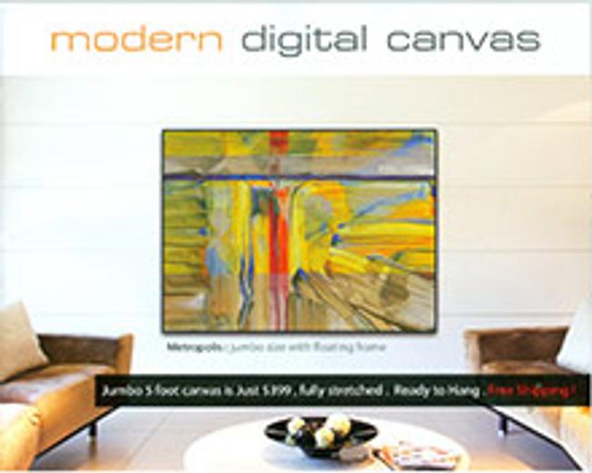 Modern Digital Catalog Cover