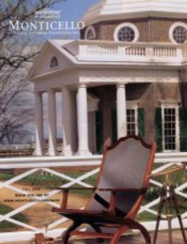 Monticello Catalog Catalog Cover