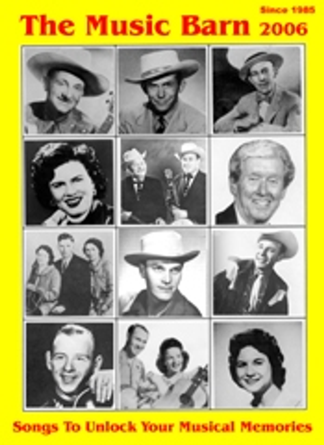 The Music Barn Catalog Cover