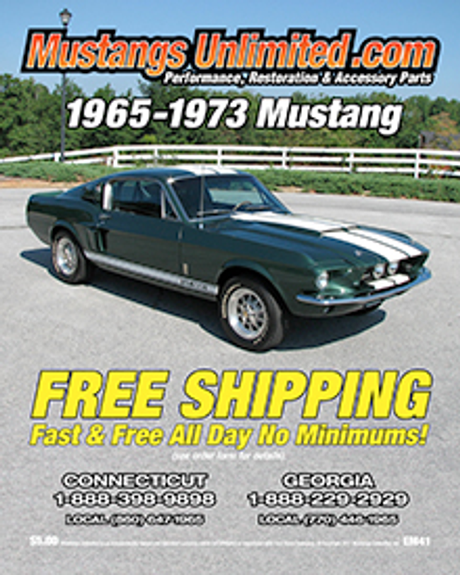 Mustangs Unlimited Catalog Cover