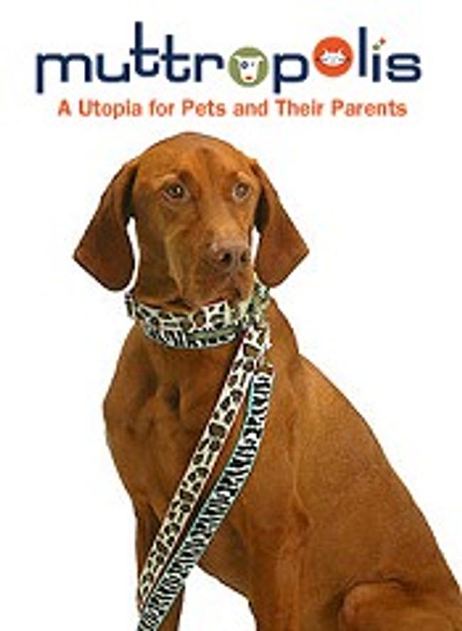 Muttropolis Dog & Cat Boutique Catalog Cover
