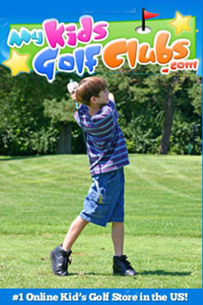 My KidsGolfClubs.com Catalog Cover