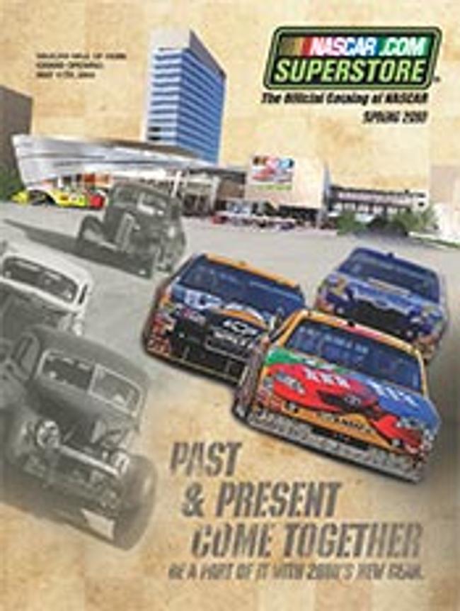 NASCAR Catalog Cover