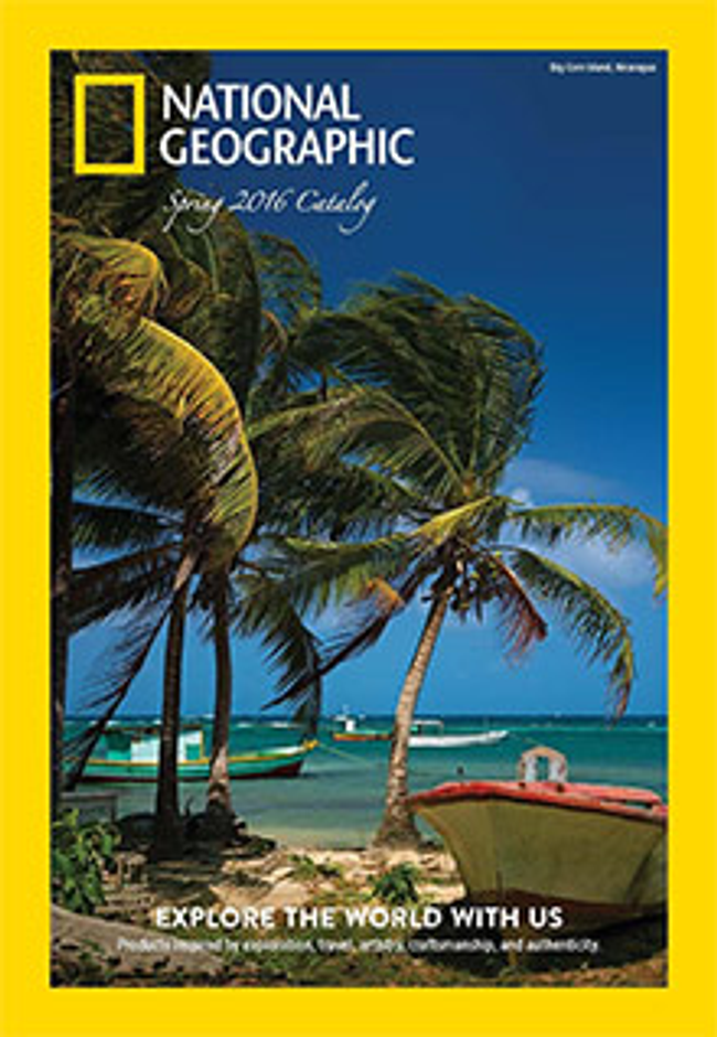 National Geographic Catalog Cover