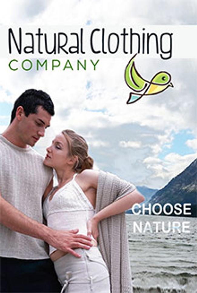 Natural Clothing Catalog Cover