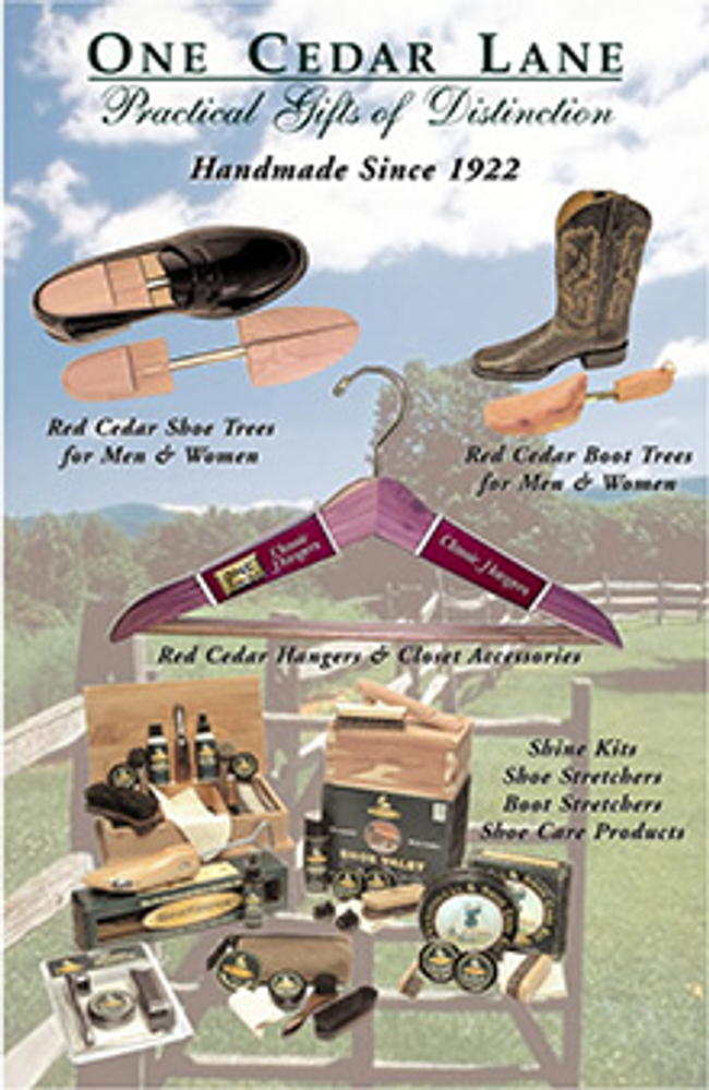 One Cedar Lane Catalog Cover
