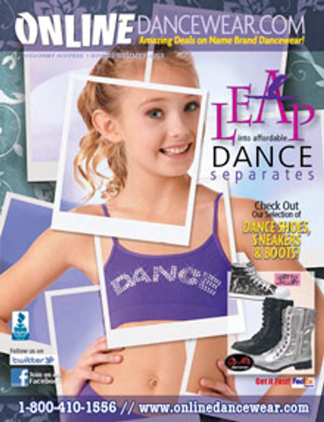 Online Dance Catalog Cover