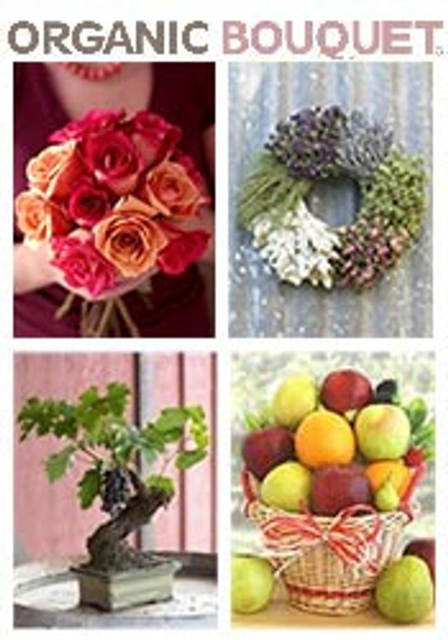 Organic Bouquet Catalog Cover