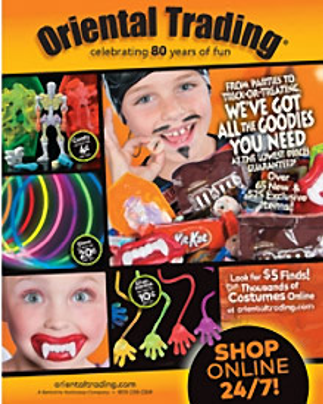 Halloween by Oriental Trading Catalog Cover