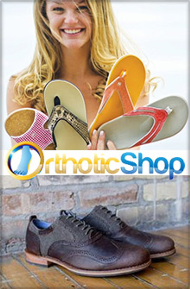 Orthotic Shop Catalog Cover