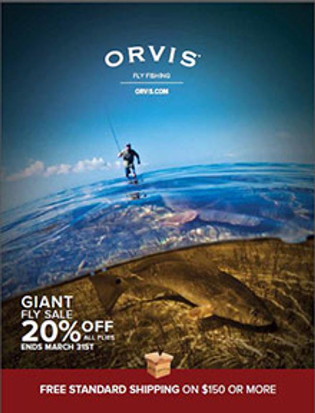 Orvis Fly Fishing Catalog Cover