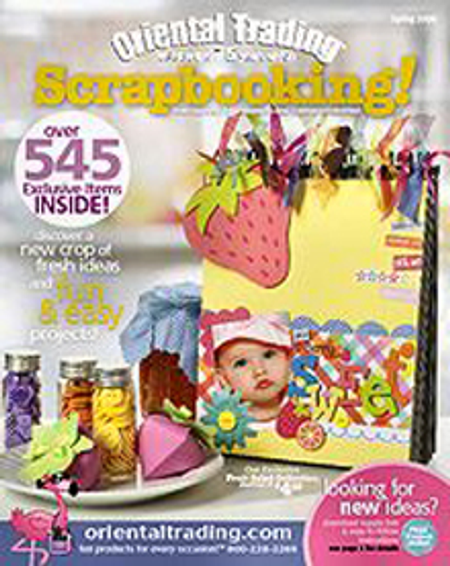 Oriental Trading - Scrapbooking Catalog Cover