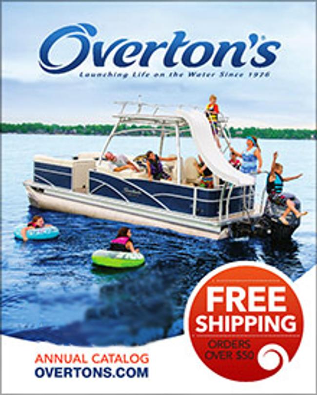 Overton's  Catalog Cover