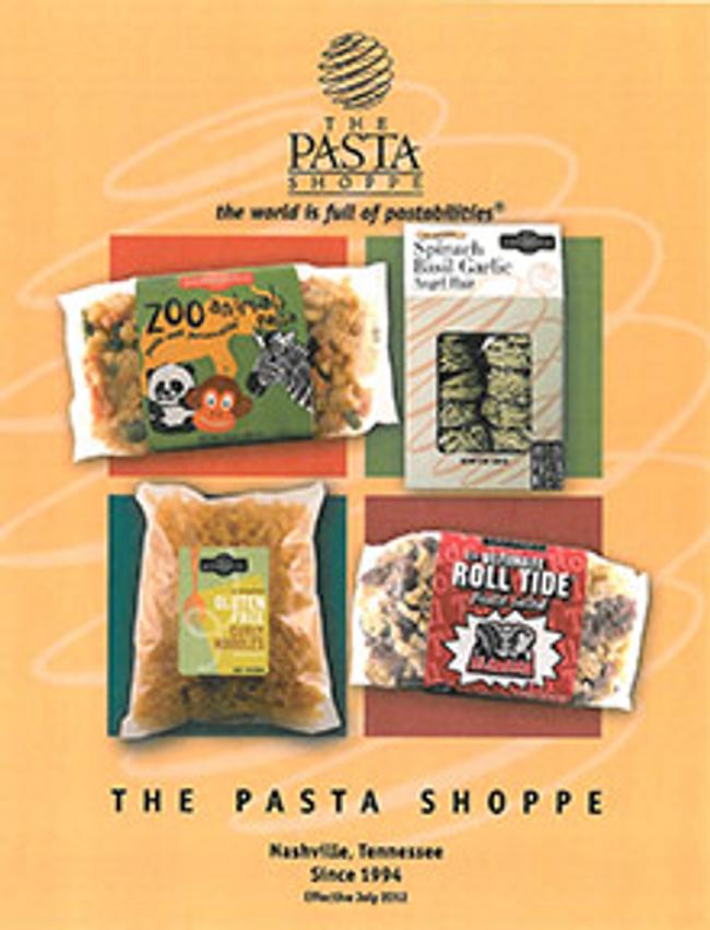 The Pasta Shoppe Catalog Cover