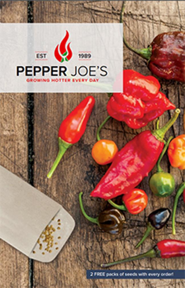 Pepper Joe's Catalog Cover