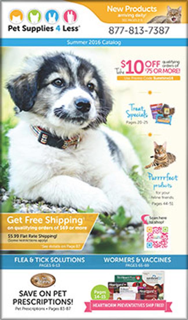 Pet Supplies Catalog Cover