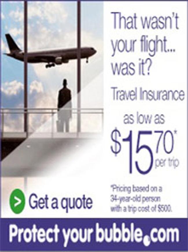 ProtectMyBubble Travel Catalog Cover