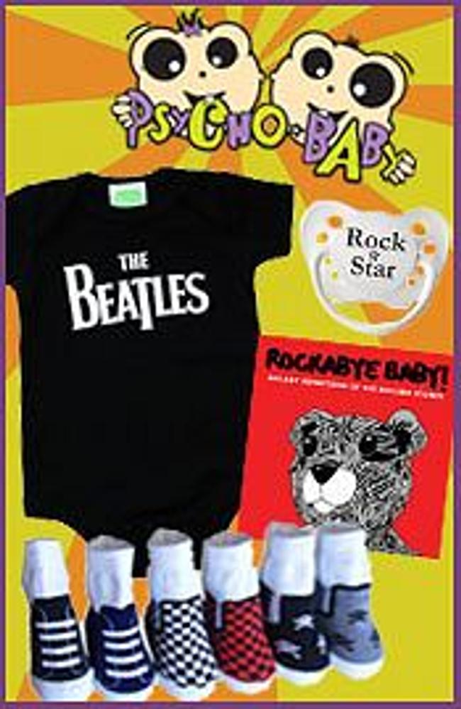 Psycho Baby Catalog Cover