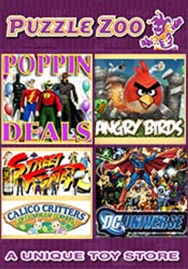 Puzzle Zoo Catalog Cover