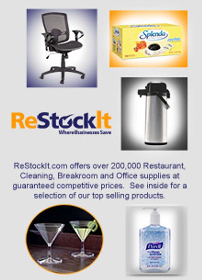 ReStockIt Catalog Cover