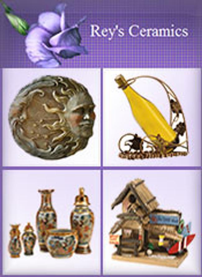 Rey's Ceramics Catalog Cover