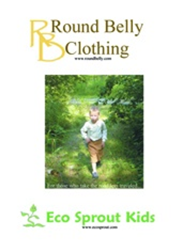 Round Belly Clothing Catalog Cover