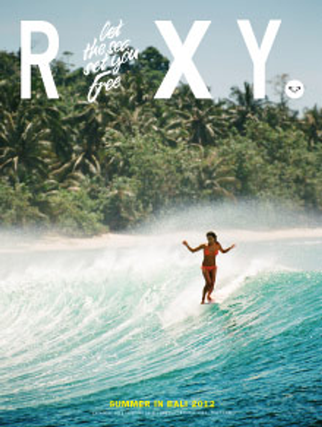 Roxy Catalog Cover