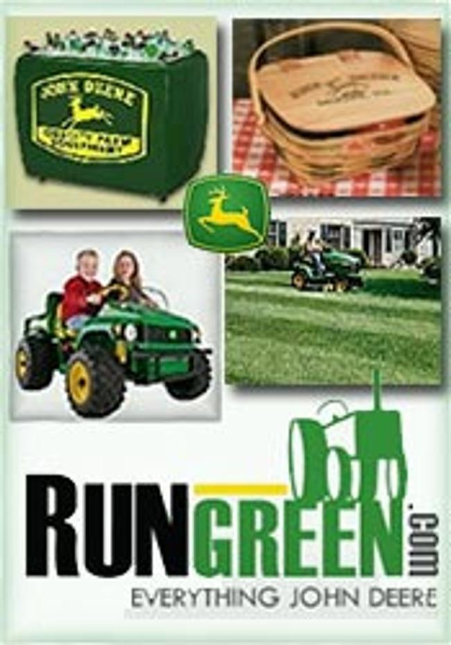 Run Green Catalog Cover
