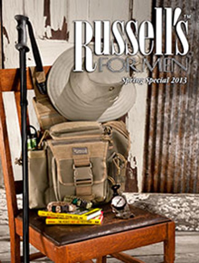 Russells for Men Catalog Cover