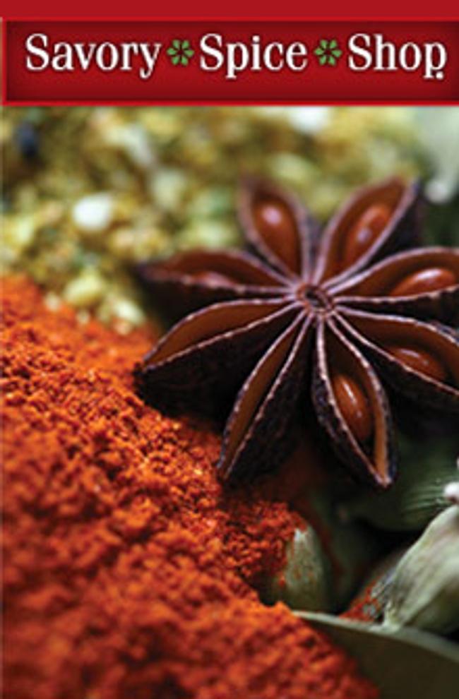 Savory Spice Shop Catalog Cover