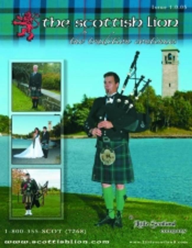 The Scottish Lion Catalog Cover
