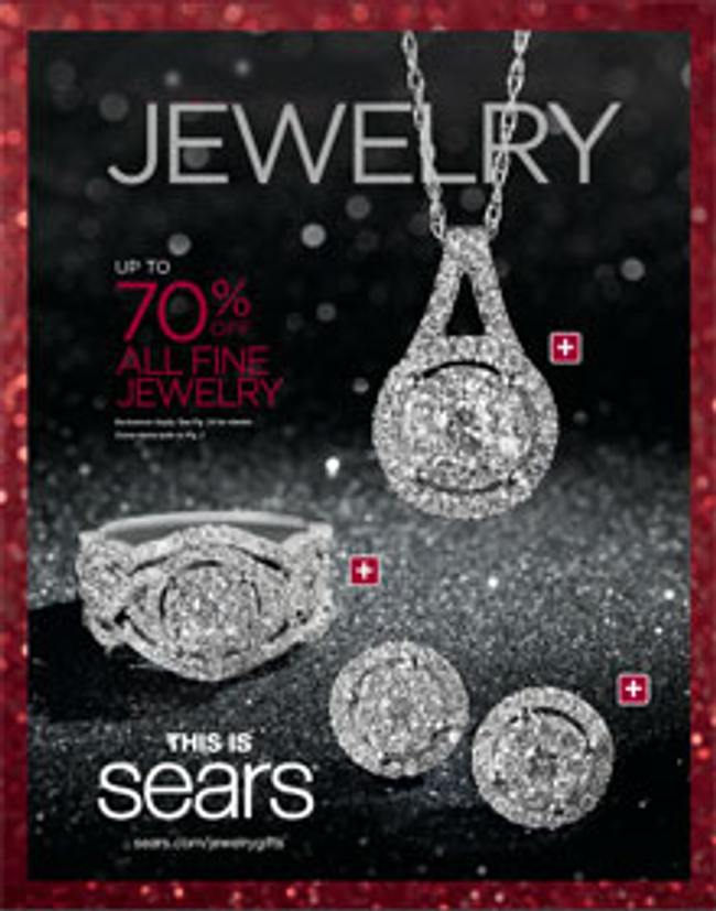 Sears Jewelry Catalog Cover