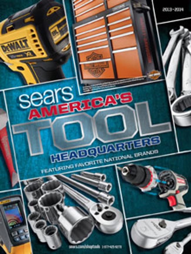 Sears Tool Catalog Cover