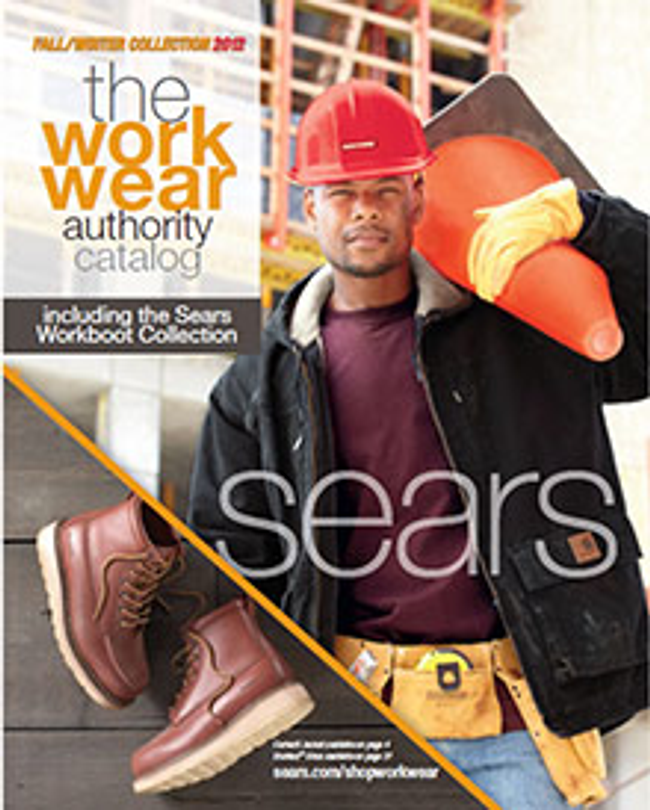 Sears Workwear Catalog Cover