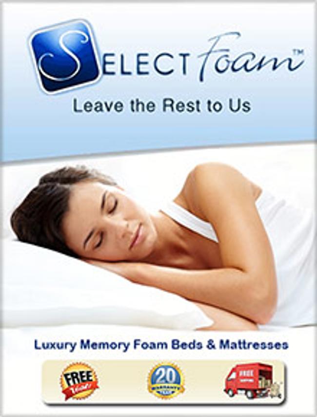 Select Foam Catalog Cover