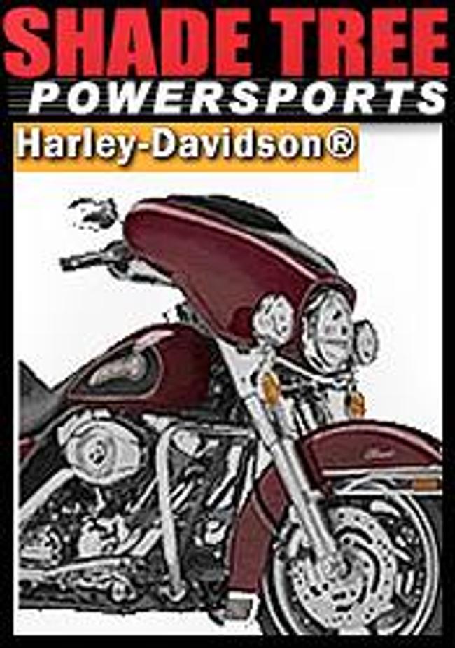 Harley Davidson from Shade Tree Power Sports  Catalog Cover