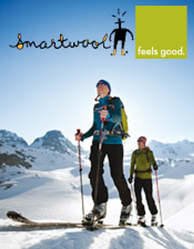 SmartWool Catalog Cover