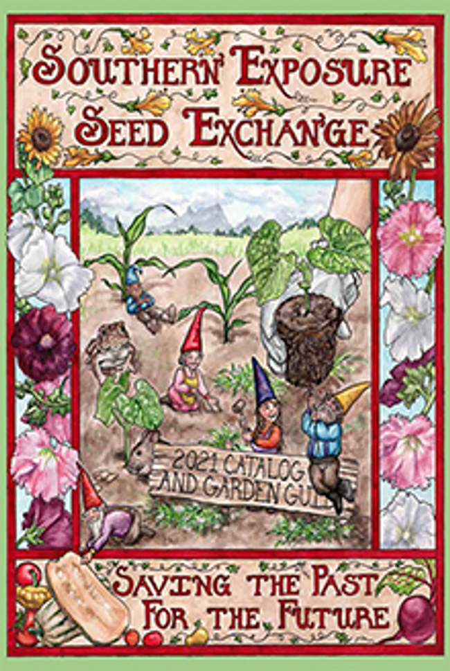Southern Exposure Seed Exchange Catalog Cover