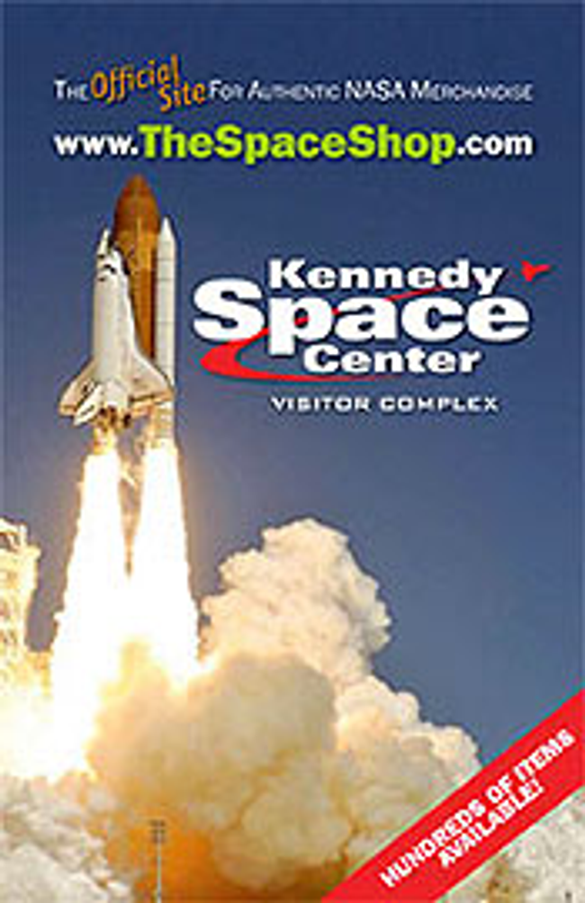 The Space Shop at Kennedy Space Center Catalog Cover