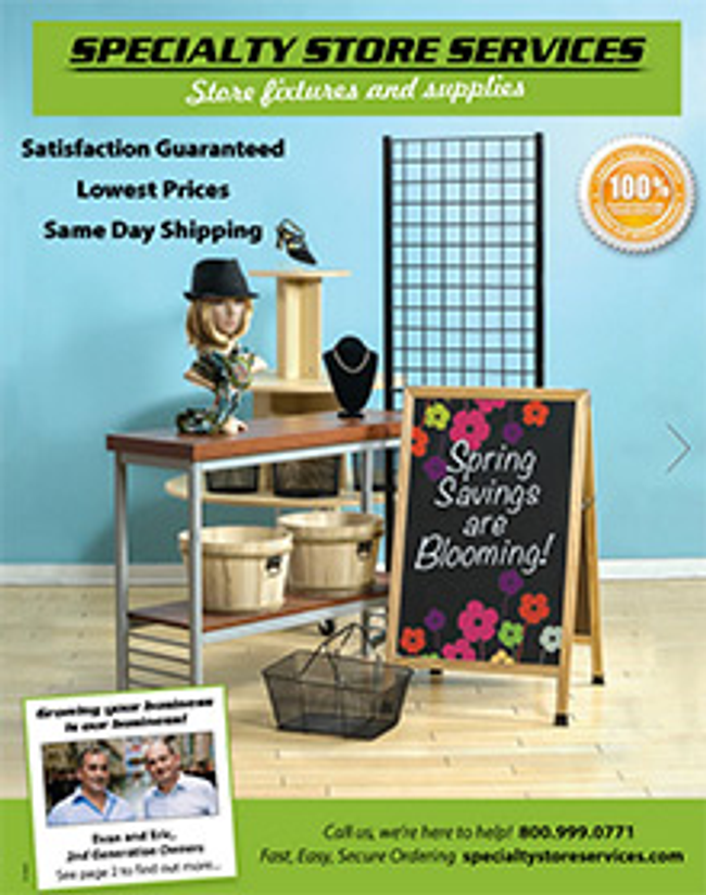 Specialty Store Catalog Cover