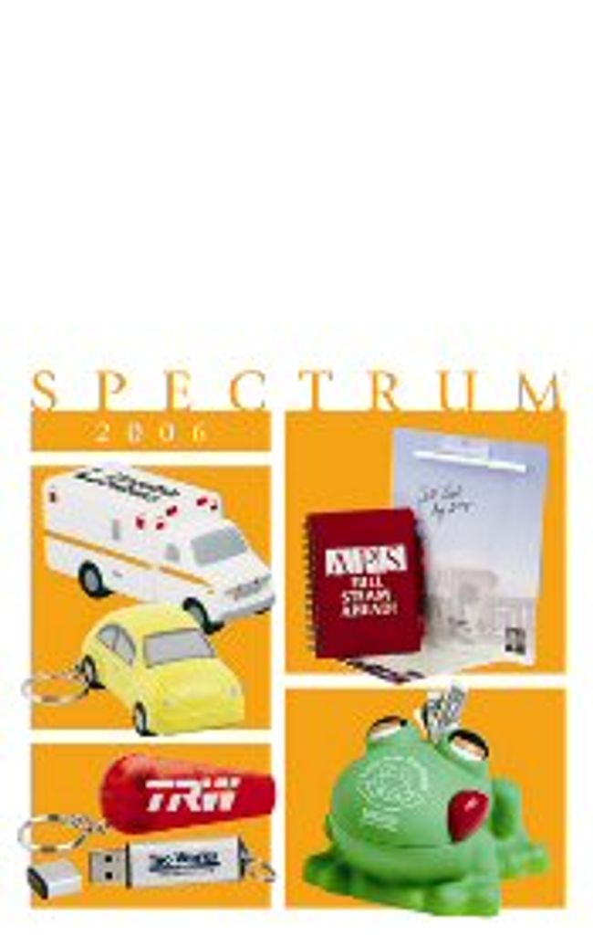 Spectrum Catalog Catalog Cover