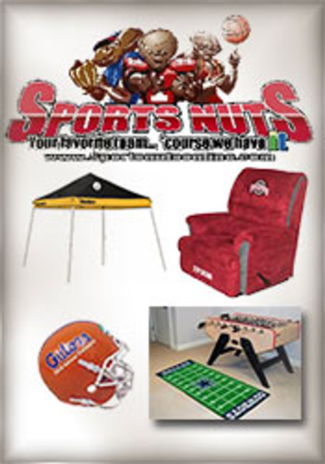 Sports Nuts Online Catalog Cover